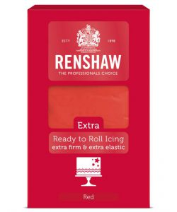 Renshaw Rolfondant Extra 1kg - Red