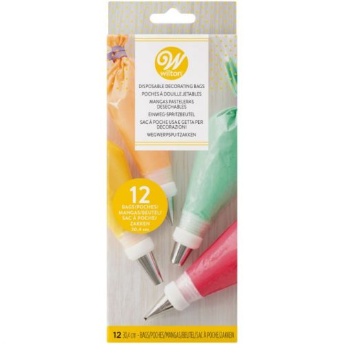 Wilton disposable decorating bags 30cm, pk/12