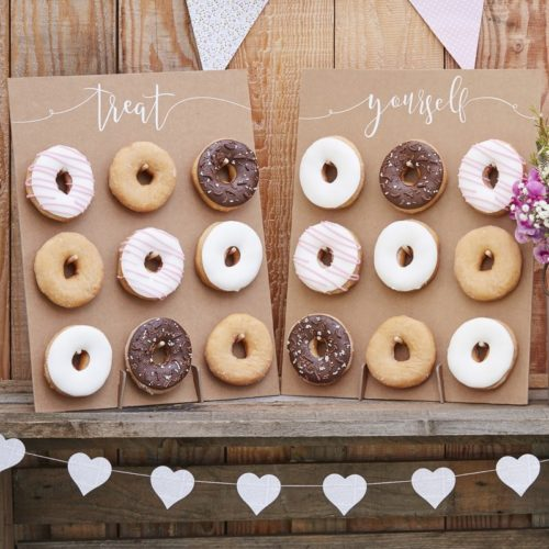 Donut wall - rustic country