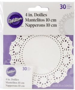 Wilton Doilies White Grease-Proof -Round 10cm-