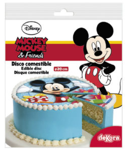 Mickey Mouse sugar disc 20 cm (2)