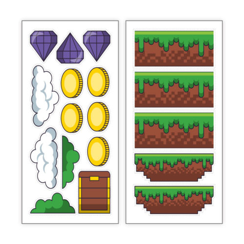 Game items eetbare print (4)