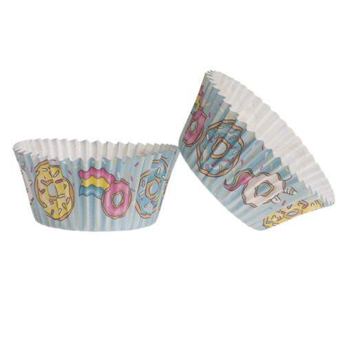 Baking cups Fast Food 25 stuks