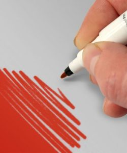 RD Food Art Pen - Red - (2)