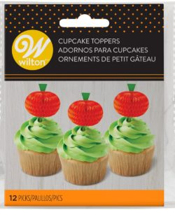 Wilton Honeycomb Pumpkin pk/12