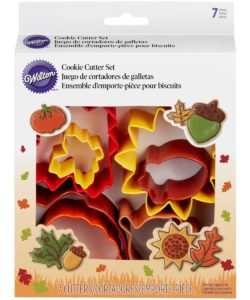Wilton Cookie Cutter Autumn Set/7