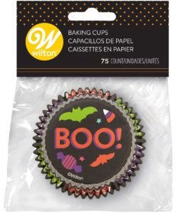 Wilton Baking Cups Boo pk/75