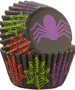 Wilton mini baking cups spider pk/100 (2)