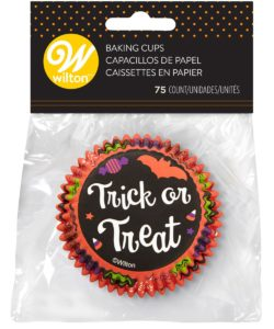 Wilton Baking Cups Trick or Treat pk/75