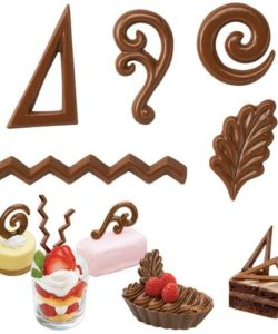 Wilton candy mold dessert accents bij cake, bake & love 6