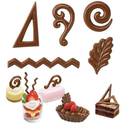 Wilton candy mold dessert accents bij cake, bake & love 5