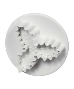 Pme small veined three leaf holly plunger cutter (25mm) bij cake, bake & love 13