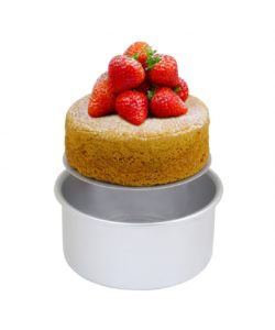 "Pme loose bottom round cake pan (11"" x 3"") bij cake, bake & love 8"