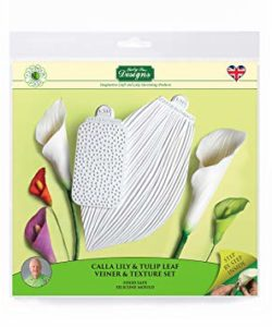 Katy Sue Flower Pro - Calla Lily & Tulip Leaf Vein & Texture Set