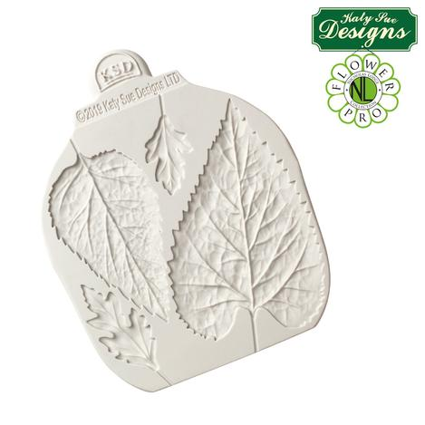 Katy sue flower pro - sunflower / daisy leaves mould and veiner (3)