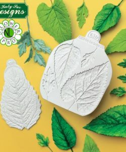 Katy sue flower pro - sunflower / daisy leaves mould and veiner (4)