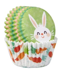 Wilton mini baking cups easter bunny pk/100 bij cake, bake & love 10