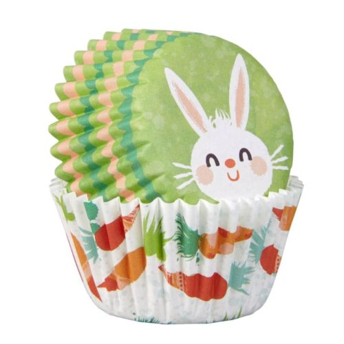 Wilton mini baking cups easter bunny pk/100 bij cake, bake & love 7
