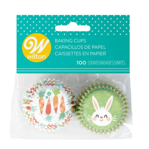 Wilton mini baking cups easter bunny pk/100 bij cake, bake & love 5