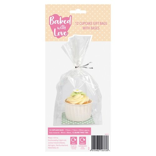 Cupcake gift bag and base by baked with love bij cake, bake & love 5