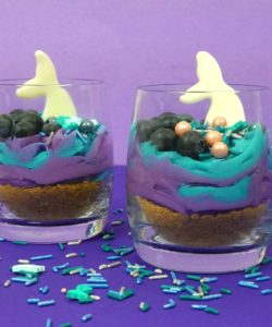 Mermaid frosting bij cake, bake & love 10