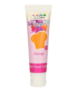 Funcakes edible funcolours gel - orange 30g bij cake, bake & love 10