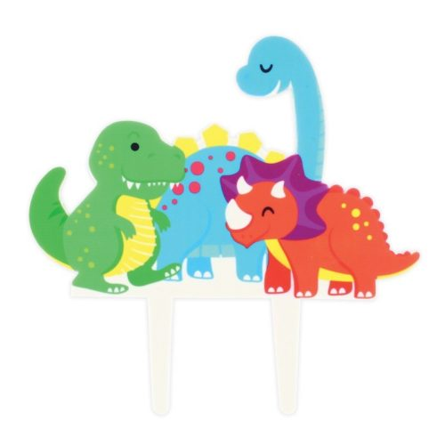 Caketopper dinosaurus - 175 x 170 mm bij cake, bake & love 5