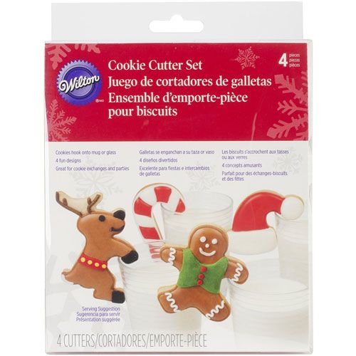 Wilton cookie cutter milk and cookies set/4 bij cake, bake & love 5