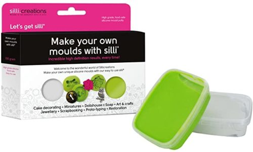 Sillicreations make your own silicone moulds -300g bij cake, bake & love 5