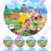 Animal crossing3 18 cm + 8 cupcakes bij cake, bake & love 1