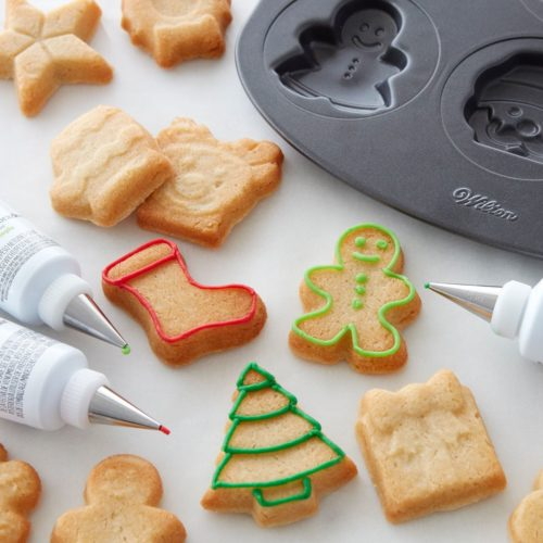 Wilton cookie pan holiday icons bij cake, bake & love 7