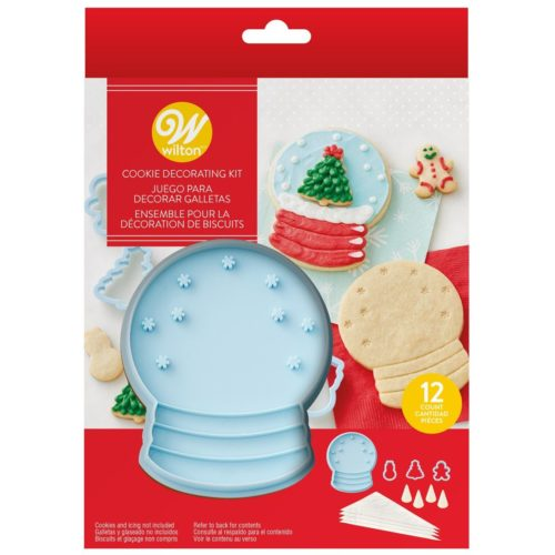 Wilton cookie stamp kit snow globe bij cake, bake & love 5