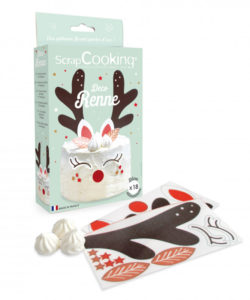 Scrapcooking decoratie kit ouwel rendier bij cake, bake & love 8