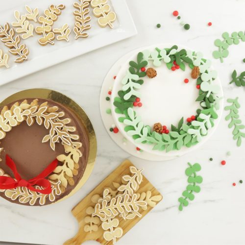 Pme wreath eucalyptus cutter set/3 bij cake, bake & love 7