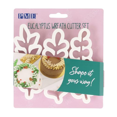 Pme wreath eucalyptus cutter set/3 bij cake, bake & love 5