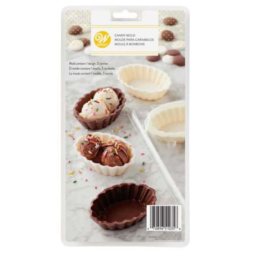 Wilton candy mold dessert shell bij cake, bake & love 5