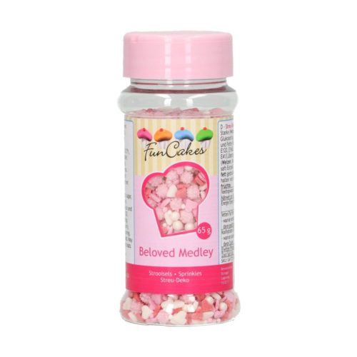 Funcakes sprinkle medley -beloved- 65g bij cake, bake & love 5