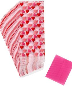 Wilton treat bags hearts pk/20 bij cake, bake & love 7