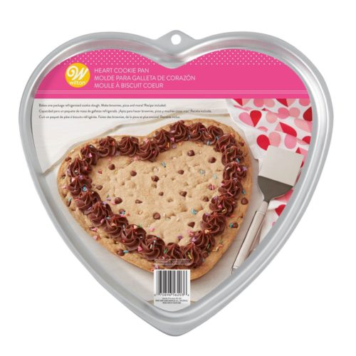 Wilton cookie pan giant heart bij cake, bake & love 5