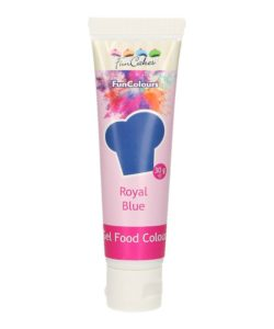 Funcakes edible funcolours gel - royal blue 30g bij cake, bake & love 8